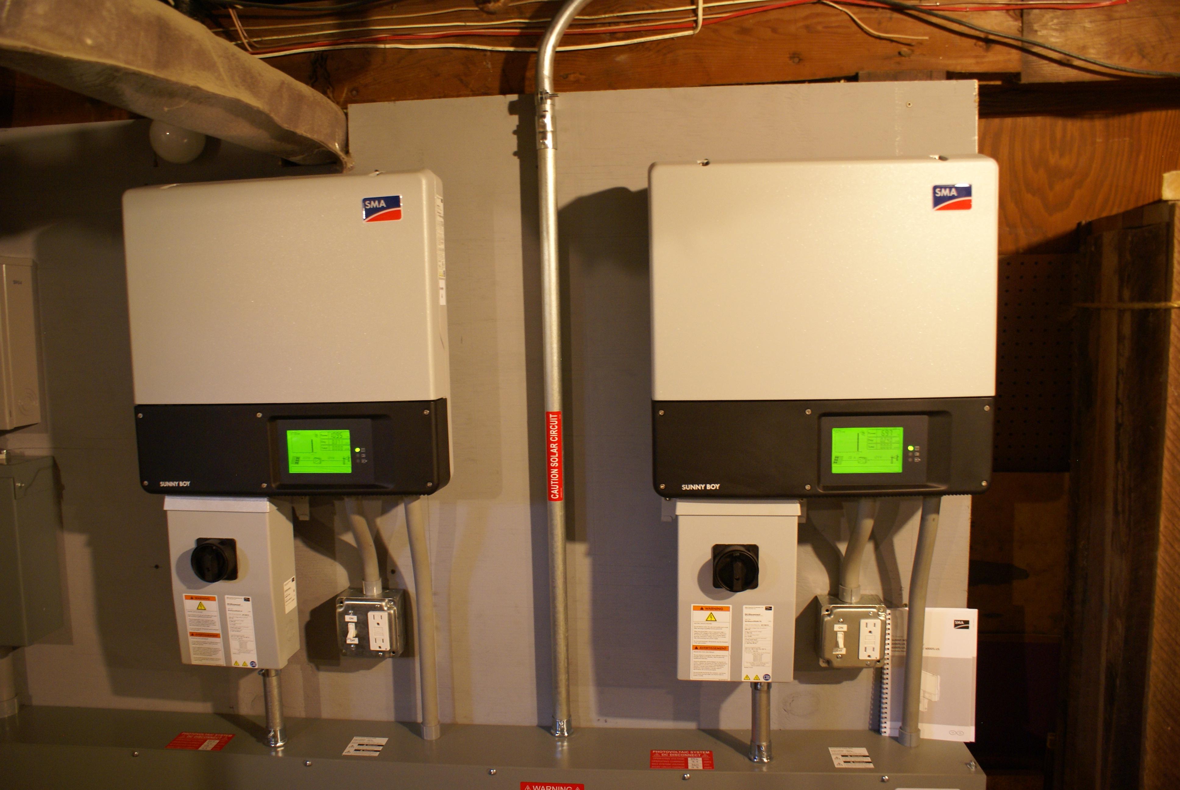 SMA SB 3800TL-US-22 and SB 3000TL-US-22 Inverters