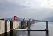 Hydroelectric dam - Three Gorges