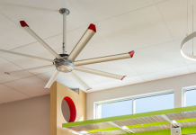energy efficiency stock fan light shelf