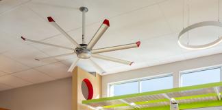 energy efficiency stock fan light shelf