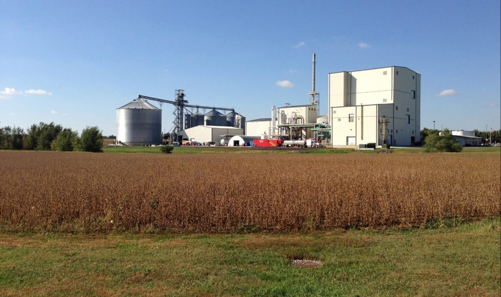 Gevo renewable fuel and chemical plant in Luverne