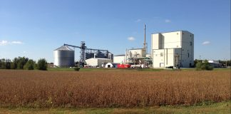 Gevo renewable fuel and chemical plant