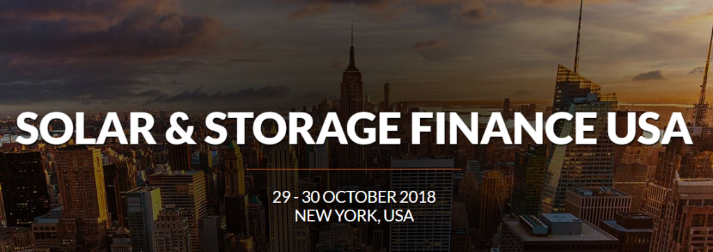 solar storage and finance