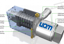 UQM Fuel Cell comperssor