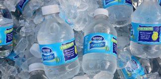 nestle water bottles