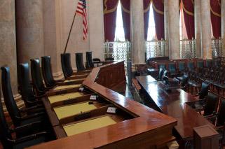 Supreme Court courtroom