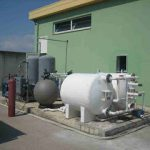 MagneGas treatment installation